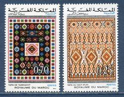 Maroc - YT N° 692 Et 693 - Neuf Sans Charnière - 1973 - Morocco (1956-...)