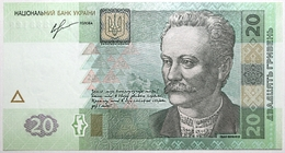 Ukraine - 20 Hryven - 2013 - PICK 120d - NEUF - Ukraine