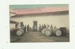 ESPAGNE - TOMELLOSO - MARTINEZ HERMANOS Y Cia  Distierias Alcoholes Vista De Los Almacenes De Anisados Animé Bon état - Espagne