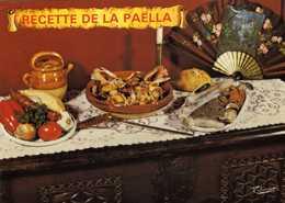 3106 - Recette De La Paëlla Basquaise 4 Personnes - Edit. Thouand Biarritz - Recipes (cooking)