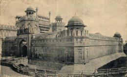 The Lahore Gate Fort, Delhi. INDIA // INDE. - India