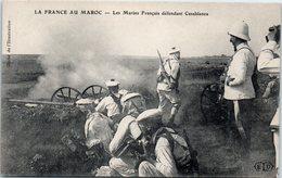AFRIQUE --  MAROC -- CASABLANCA --  Les Marins Français Défendant Casablanca - Casablanca