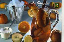 N° 1713 E - Recette De La Sangria (Vins Carniena Ou Priorato) - Edit. Neto  Perpignan - Recipes (cooking)