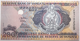 Vanuatu - 200 Vatu - 1995 - PICK 8b.1 - NEUF - Vanuatu