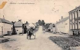 59  .n°  107514 . Marbaix .attelage .la Route De Landrecies . - France
