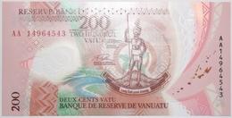 Vanuatu - 200 Vatu - 2014 - PICK 12a - NEUF - Vanuatu