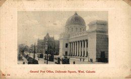 General Post Office, Dalhousie Square, West, Calcutta. INDIA // INDE. - India