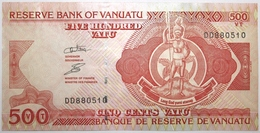 Vanuatu - 500 Vatu - 2006 - PICK 5b.2 - NEUF - Vanuatu