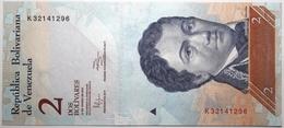 Venezuela - 2 Bolivares - 2012 - PICK 88d - NEUF - Venezuela