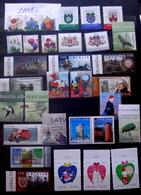 Latvia , Lettland , Lettonia  2019 FULL YEAR SET - Cristmas , ARHITEKTURE, Cat , Bird ,  MNH - Lettonia
