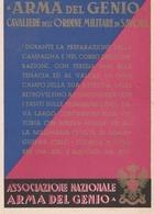 Cartolina - Postcard / Non Viaggiata - Unsent  /  Arma Del Genio - Associazione  Nazionale - Regiments