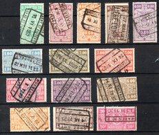 BELGIQUE. Petite Collection De 1923-31 Oblitérés. Colis Postaux. - 1923-1941