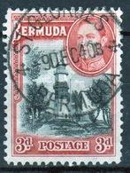 Bermuda George VI 3d Single Stamp From The 1938 Definitive Set. - Bermuda