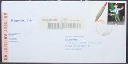 Portugal - Registered Cover AR 2011 Senses Tact Rasp Relief Circus Melo - 1910-... República