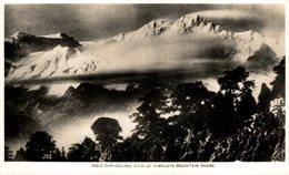 Darjeeling. View Of Himalaya Mountain Range. INDIA // INDE. - India