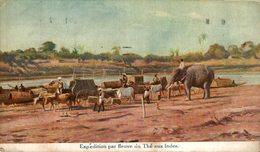 Expedition Par Fleuve Du The Aux Indes. INDIA // INDE. - India