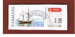 DANIMARCA (DENMARK)  -   MI  L39  -  2007 ATM: STORSTROM BRIDGE, SHIP   -   USED ° - Vignette Di Affrancatura (ATM/Frama)