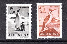 Argentina  -  1961. Pinguini E Cormorano. Penguins And Cormorant. Complete MNH Series - Pinguine