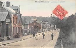 60  .n°  107530 . Liancourt . L Avenue De La Gare . - Liancourt