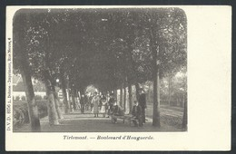 +++ CPA - TIRLEMONT - TIENEN - Boulevard D' Hougaerde - DVD 8256 - Carte Animée  // - Tienen