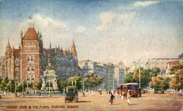 Hornby Road & The Fountain Bombay. INDIA // INDE. - India