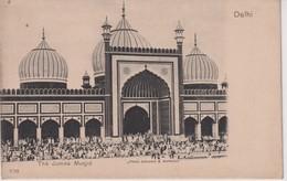 The Jumna Musjid, Delhi. INDIA // INDE. - India