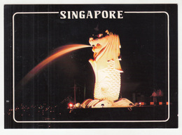 Singapore Old Postcard Posted 1989 To Germany B191210 - Singapore