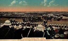 INDIA // INDE. CORONATION DURBAR 1911 DELHI - Inde