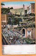 Napoli Italy 1900 Postcard - Napoli (Naples)