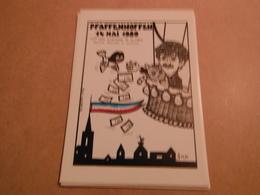 Cpm  De Collection Signee Neuve 1989 PFAFFENNOFFEN  Bicentenaire De La Revolution Foire De La Cp .-150 Exemplaires - Lardie