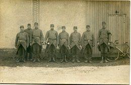 VERNEUIL Sur AVRE (27) - LES POILUS Devant LA GRANGE Où ILS COUCHENT - - Oorlog 1914-18