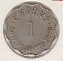 @Y@    Cyprus   1 Piaster 1938     (3099)  Pr+ - Chypre