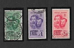 Serie 114 (Sassone) - Fratelli Bandiera  I Scelta - 4. 1944-45 Sozialrepublik