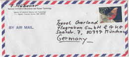 Japan Air Mail Letter Cover Posted To Germany B191210 - 1989-... Imperatore Akihito (Periodo Heisei)
