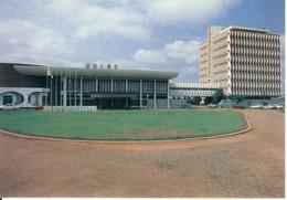 Bangui  Le Palais De L'UDEAC  Cp Format 10-15 - Centraal-Afrikaanse Republiek