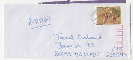 Japan Letter Cover Posted 1995 Hongo Tokyo To Germany B191210 - 1989-... Imperatore Akihito (Periodo Heisei)