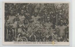 Sudan Postcard Hunters Of Vazandeh Race In Woods Congo By Victoria Stationery Co Khartoum - Sudan