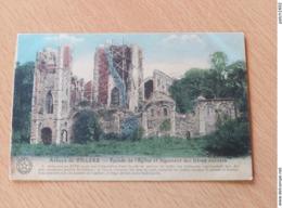 Villers-la-Ville - Abbaye De Villers   Façade De L'église  Et Logement Des Frères Convers - Villers-la-Ville