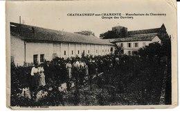Charente CHATEAUNEUF SUR CHARENTE Manufacture De Chaussons Groupe Des Ouvriers - Chateauneuf Sur Charente