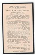 Maaseik  Doodsprentje 1934 MARIA CATHARINA CORDIE Weduwe HENRI HEYLIGERS - Godsdienst & Esoterisme