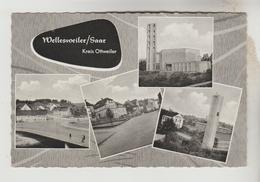 CPSM OTTWEILER (Allemagne-Sarre) - WELLESWEILER : 4 Vues - Autres