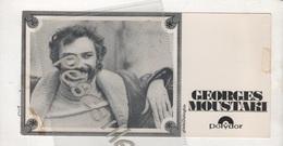 CHANSON - CARTE GEORGES MOUSTAKI - DISQUES POLYDOR - LE METEQUE - - Fotos