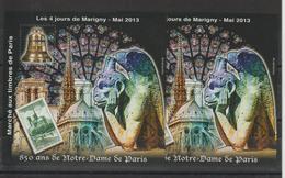 Bloc Marigny 2013 Notre Dame De Paris ** MNH - Sheetlets