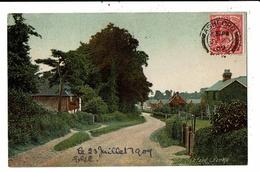 CPA-Carte Postale-Royaume Uni -Ashford--Church Lane Hennington-1909 VM10187 - England