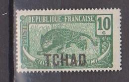 TCHAD         N°  YVERT  :   5     NEUF AVEC  CHARNIERES      (  CH 2/33 ) - Tchad (1922-1936)