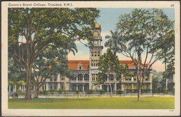 Queen's Royal College, Port Of Spain, Trinidad, C.1940s - De Lima & Co Postcard - Trinidad