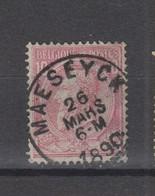 COB 46 Oblitération Centrale MAESEYCK - 1884-1891 Léopold II