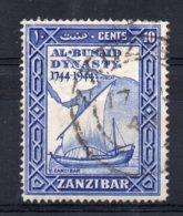 Zanzibar - 1944 - 10c Al Busaid Dynasty Bicentenary - Used - Zanzibar (...-1963)