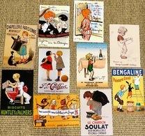 Lot N° 2 De 10 CPM Publicitaires : Enfants, Illustrateurs (E. Ogé, R. Vincent, G.Redon, Joë Bridge, K. Bickel) - Publicité