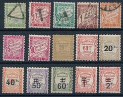 DG-66: FRANCE: Lot   Avec Taxes Obl/*  N°32*-35*-41 Obl-45a*-48*-49*-50*-51*-52*-53*-54* - Taxes